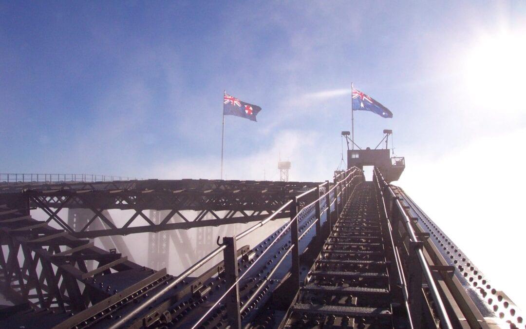 Bridge Climb Sydney Flags Morning Jana Lerbach Personal Fitness