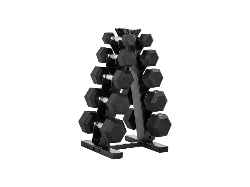 CAP-Barbell-150-Pound-Dumbbell-Set-with-Rack