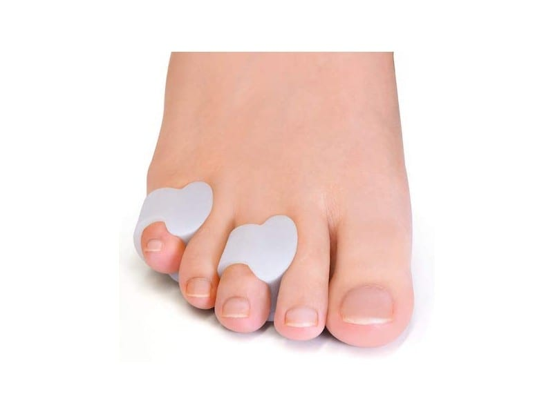 Welnove-Gel-Toe-Separator-Pinky-Toe-Spacers, Little Toe Cushions-for-Preventing-Rubbing-Relieve-Pressure