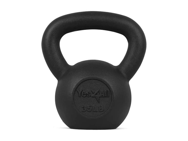 Yes4All-Solid-Cast-Iron-Kettlebell-Weights
